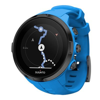 Suunto Spartan Sport Wrist Heart Rate Monitor with Belt - Blue7