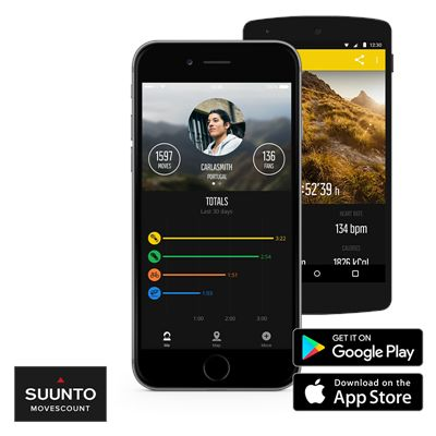 Suunto Spartan Sport Wrist Heart Rate Monitor with Belt - Gold/App