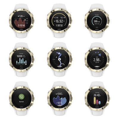 Suunto Spartan Trainer Gold Wrist Heart Rate Monitor - Features