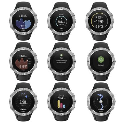 Suunto Spartan Trainer Steel Wrist Heart Rate Monitor - Features
