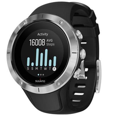 Suunto Spartan Trainer Steel Wrist Heart Rate Monitor - Side