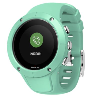 Suunto Spartan Trainer Wrist Heart Rate Monitor - Green - Side