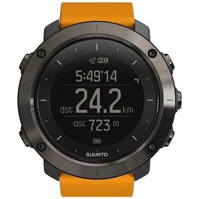 Suunto Traverse Sports Watch-Orange-Front