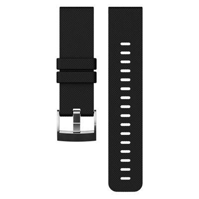 Suunto Traverse Silicone Watch Strap-Black