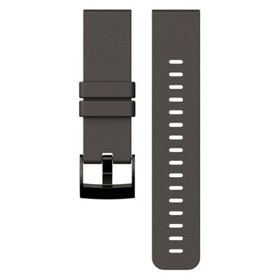 Suunto Traverse Silicone Watch Strap-Grey