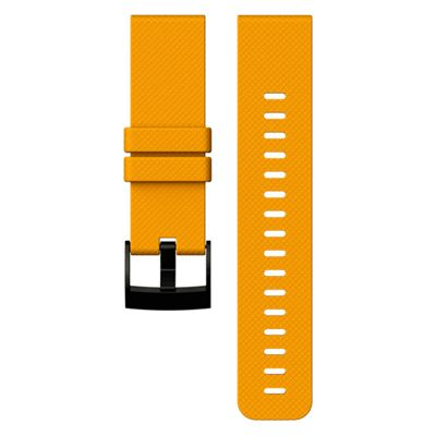 Suunto Traverse Silicone Watch Strap-Orange