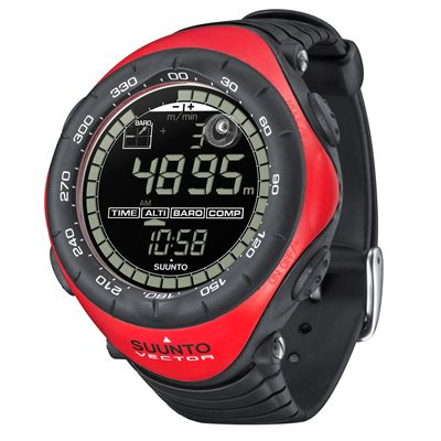 Suunto Vector Outdoor Sports Instrument Red Side