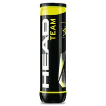 Sweatband.com Head Team Tennis Balls - Tube of 4