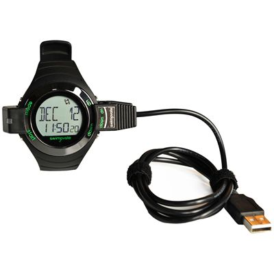 Swimovate Pool Mate Live Swim Watch with USB Download Clip Image