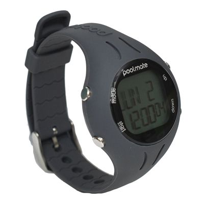 Swimovate PoolMate2 Swim Sports Watch Grey Angle View