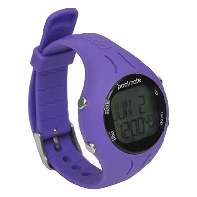 Swimovate PoolMate2 Swim Sports Watch Purple Angle View