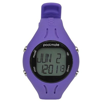 Swimovate PoolMate2 Swim Sports Watch Purple Front View