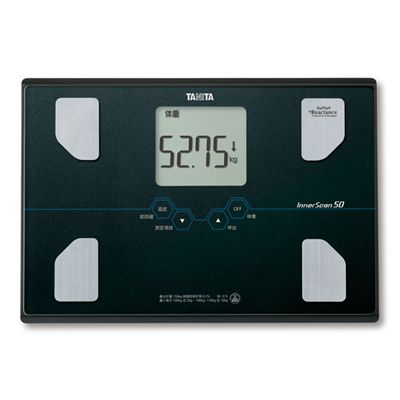 Tanita BC-313 Glass Body Composition Monitor - Black