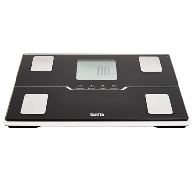 Tanita BC-401 Bluetooth Body Composition Monitor - Black - Angle