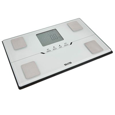 Tanita BC-401 Bluetooth Body Composition Monitor - White - Slant