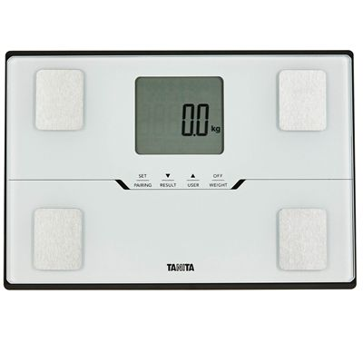 Tanita BC-401 Bluetooth Body Composition Monitor - White