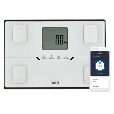 Tanita BC-401 Bluetooth Body Composition Monitor - White - App