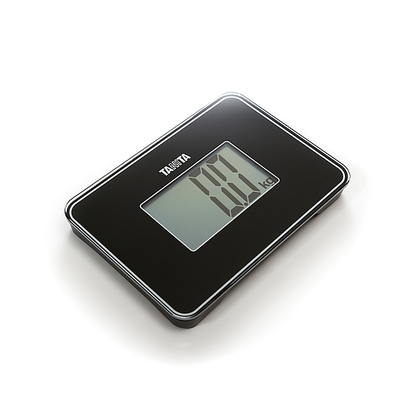 Tanita HD386 Super Compact Digital Scale  Black
