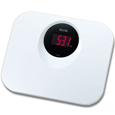 Tanita HD394 Compact Digital Scale - White