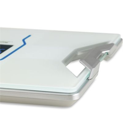 Tanita Body Composition Monitor with Integrated Bluetooth-White-Handle