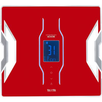 Tanita RD953 Bluetooth Smart Scale Body Composition Monitor - Red