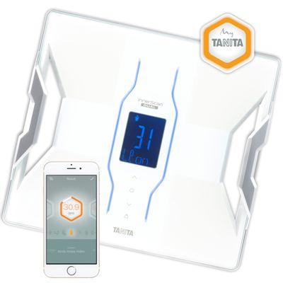 Tanita RD953 Bluetooth Smart Scale Body Composition Monitor - White/App