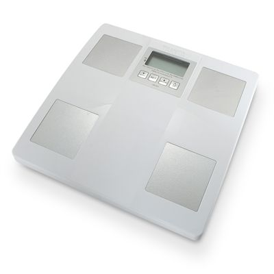 Tanita UM051WH Glass Body Fat Monitor - Turned Off