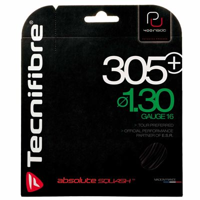 Tecnifibre 305 Plus 1.30 Squash String Set