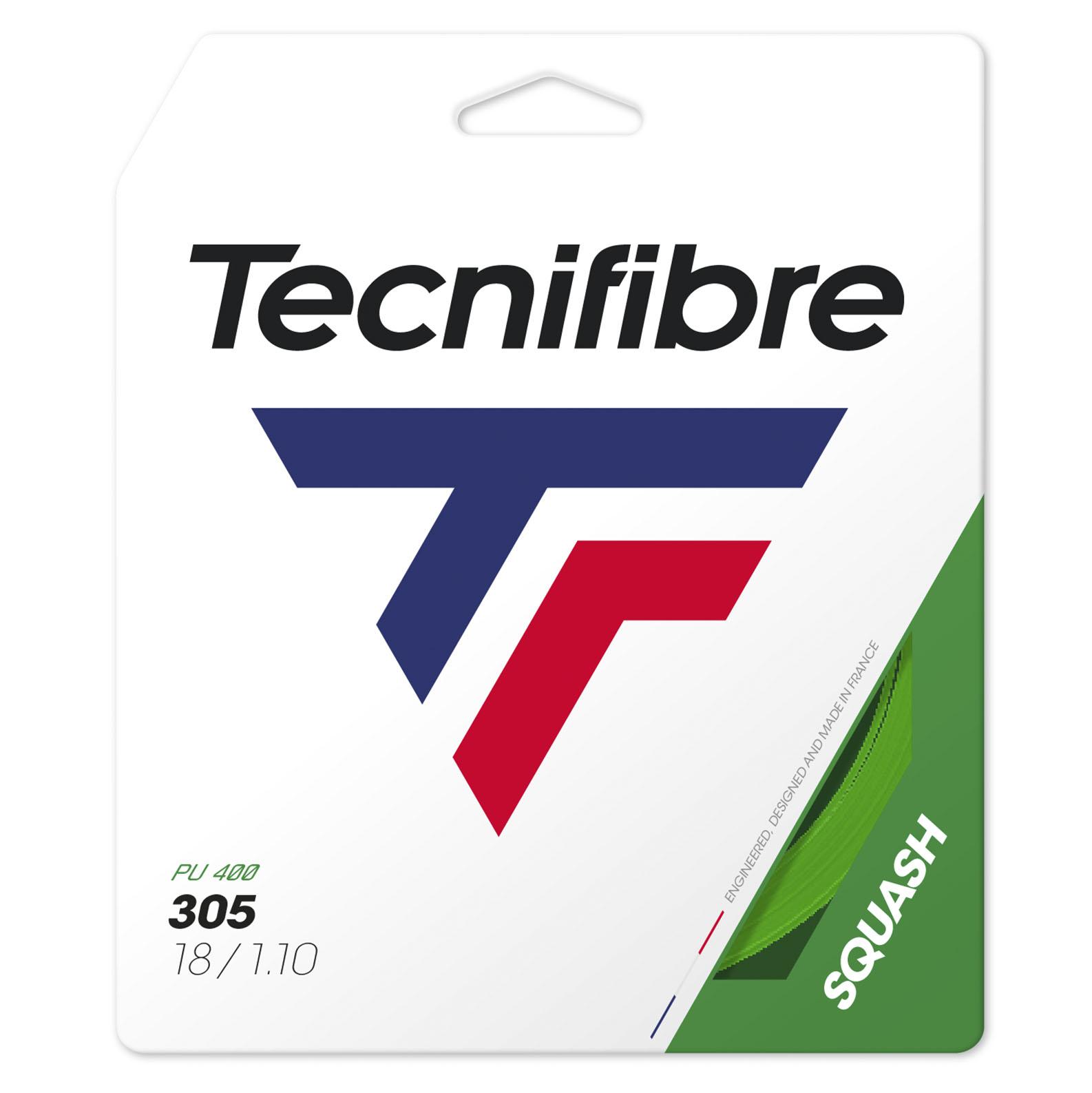 Tecnifibre 305 Premium Green Squash String - Single Set - 1.10mm