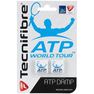 Tecnifibre ATP Damp Pack of 2 - White