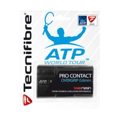 Tecnifibre ATP Pro Contact Overgrip -3 Pack - Black