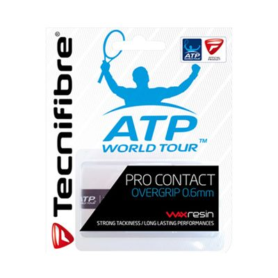 Tecnifibre ATP Pro Contact Overgrip -3 Pack - White