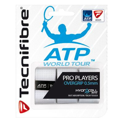 Tecnifibre ATP Pro Players Overgrip - 3 Pack - White