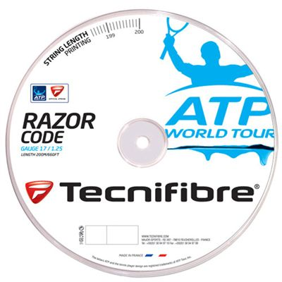 Tecnifibre ATP Razor Code 1.25 Tennis String 200m Reel image - Blue