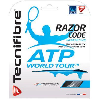 Tecnifibre ATP Razor Code 1.20 Tennis String Set - Carbon
