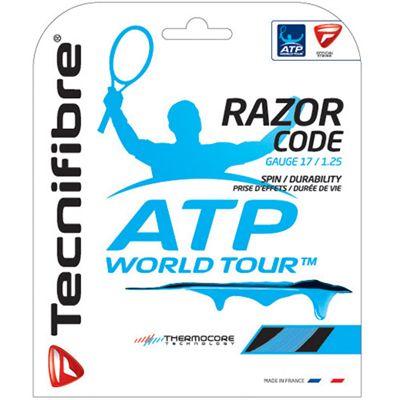 Tecnifibre ATP Razor Code 1.25 Tennis String Set - Blue