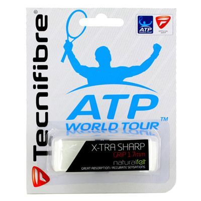 Tecnifibre ATP X-Tra Sharp Replacement Grip - White