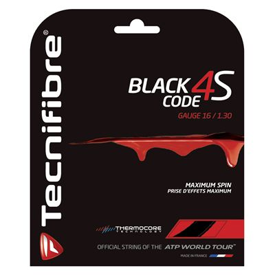 Tecnifibre Black Code 4S Tennis String Set  1.30mm