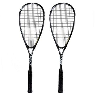 Tecnifibre Black Squash Racket Double Pack - Main Image