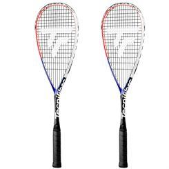 Tecnifibre Carboflex 125 Airshaft Squash Racket Double Pack