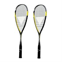 Tecnifibre Carboflex 125 Basaltex Multiaxial Squash Racket Double Pack