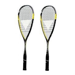 Tecnifibre Carboflex 125 Basaltex Multiaxial Squash Racket Double Pack