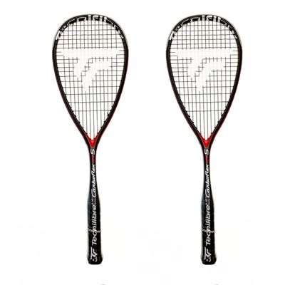 Tecnifibre Carboflex 125 S Basaltex Multiaxial Squash Racket 2020 - Double Pack updated