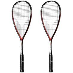 Tecnifibre Carboflex 125 S Basaltex Multiaxial Squash Racket Double Pack