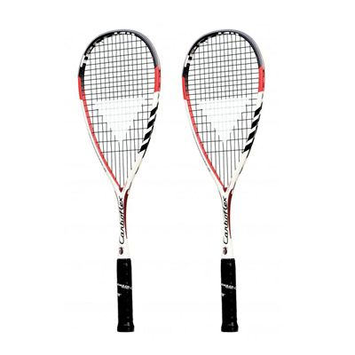 Tecnifibre Carboflex 130 Basaltex Multiaxial Squash Racket Double Pack