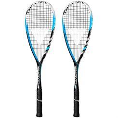 Tecnifibre Carboflex 135 Squash Racket Double Pack
