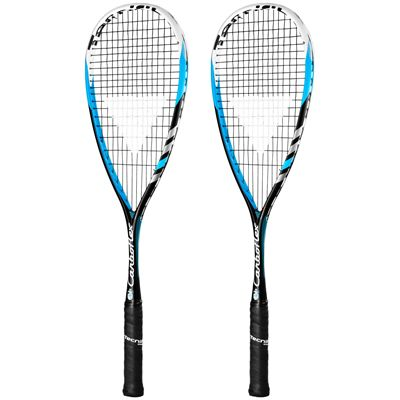 Tecnifibre Carboflex 135 Squash Racket Double Pack