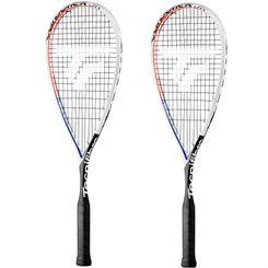 Tecnifibre Carboflex Airshaft Junior Squash Racket Double Pack