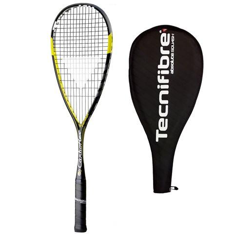 Tecnifibre Carboflex Heritage 125 Basaltex Multiaxial Squash Racket