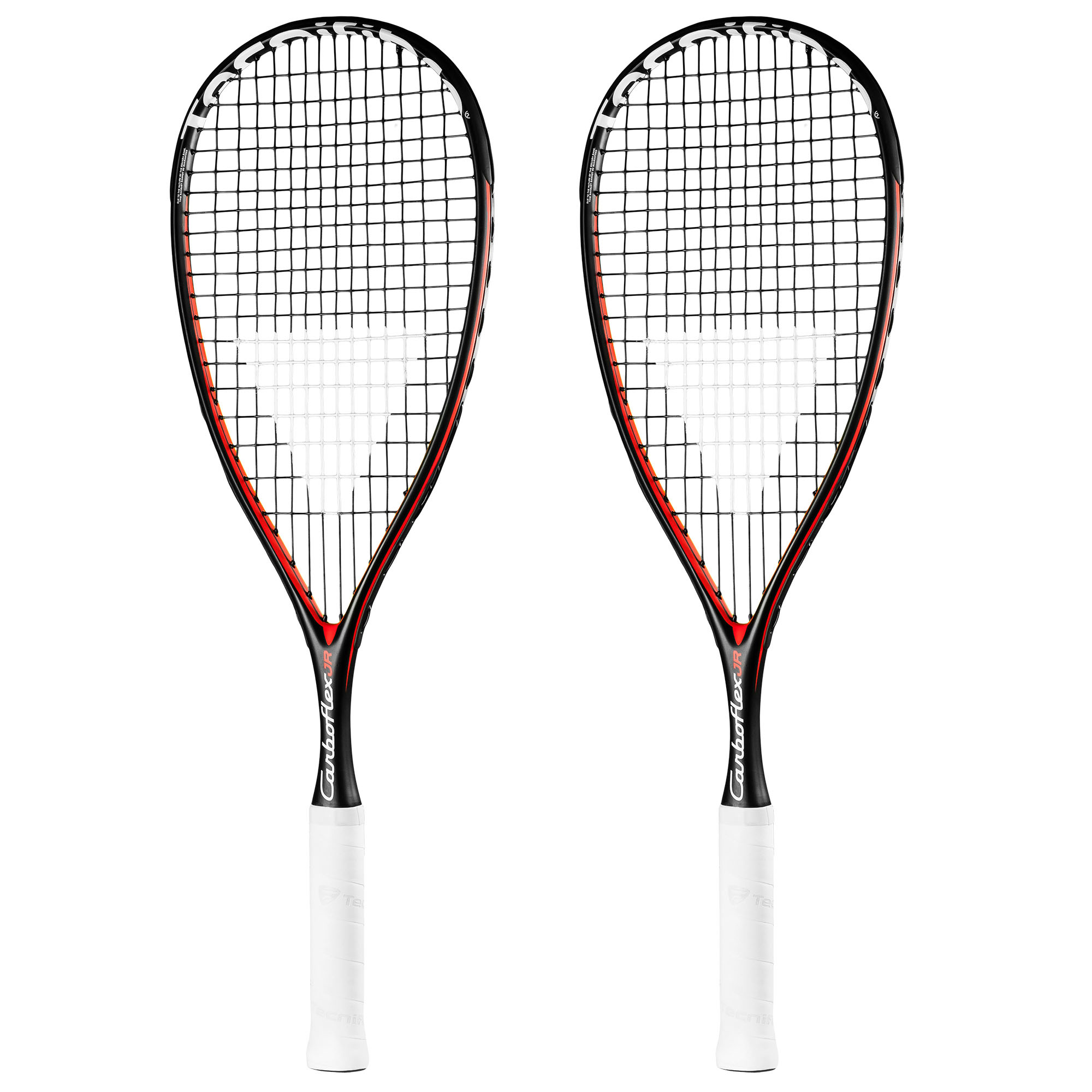 Tecnifibre Carboflex Junior Squash Racket Double Pack